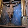 The Christ on cross in Cathedral in Palencia